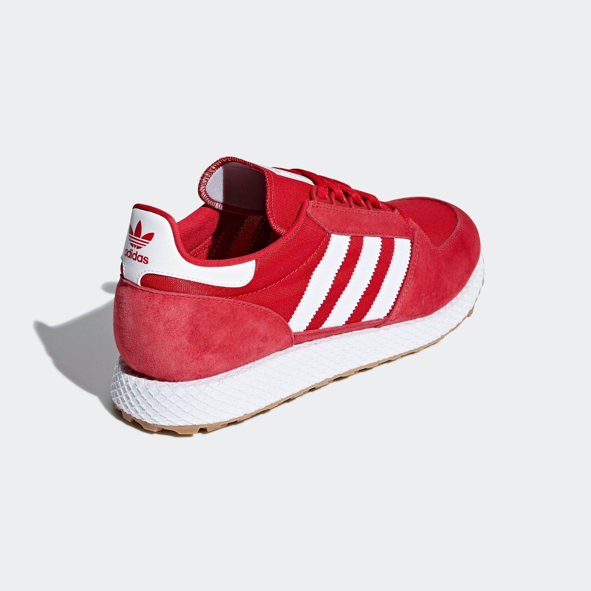 the best attitude 4bbc0 d2163 Mens adidas Originals Forest Grove Shoes Scarlet Red. 1