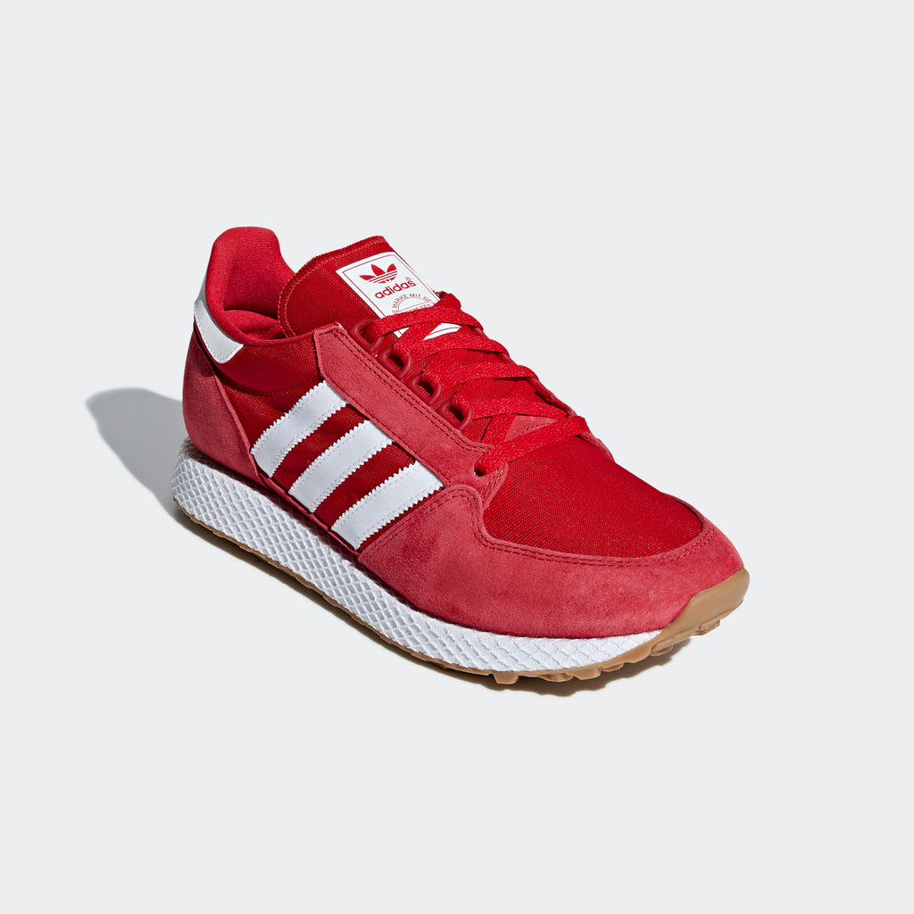 Men's adidas Originals Forest Grove Shoes Scarlet Red