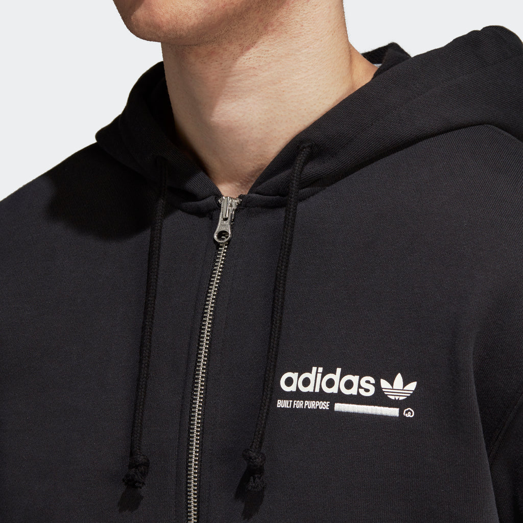 Men's adidas Originals Kaval Hoodie Black