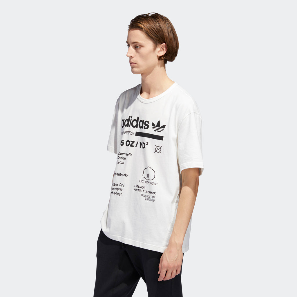 Men's adidas Originals Kaval T-Shirt Cloud White