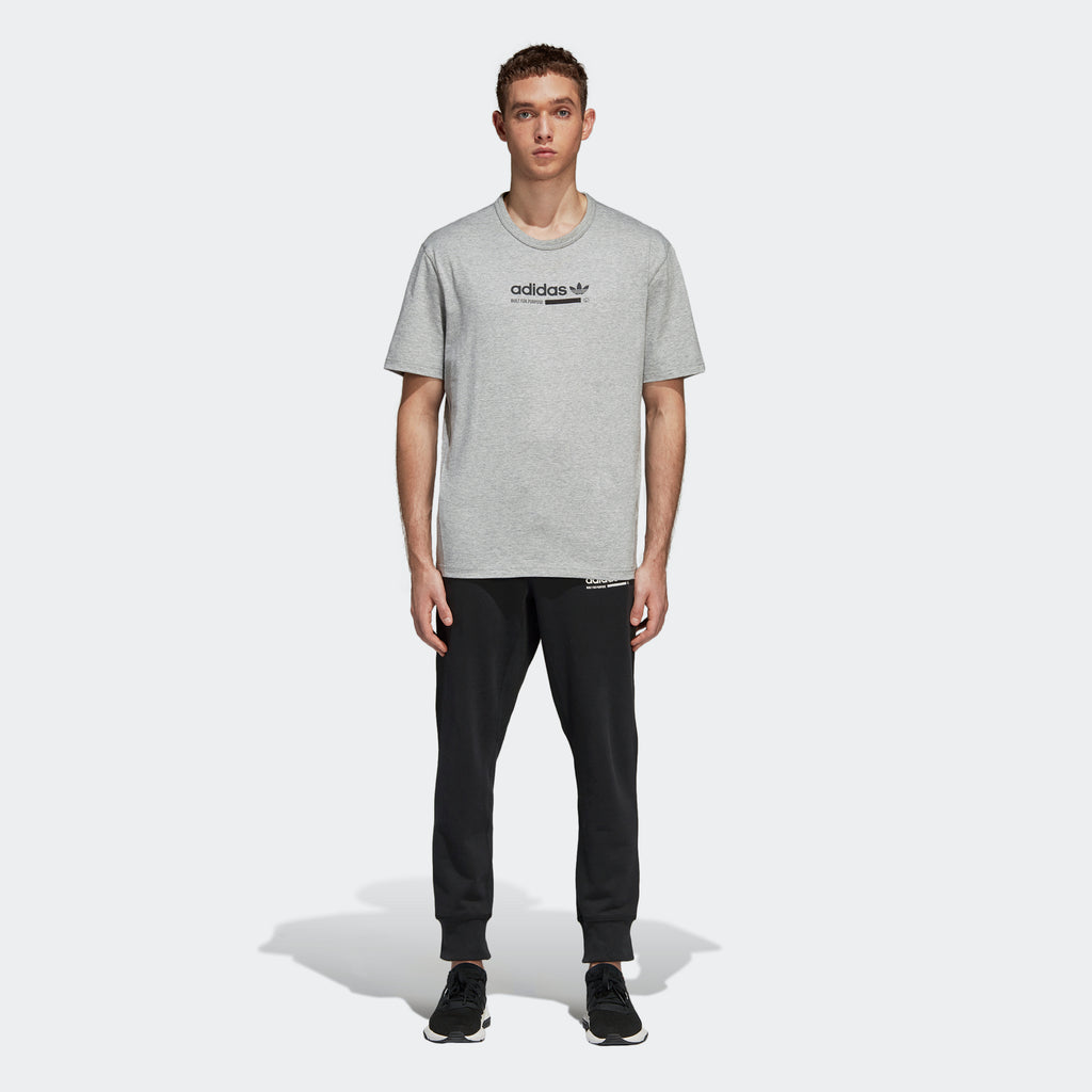 Men's adidas Originals Kaval Tee Grey