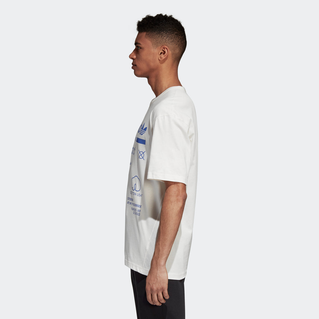 Men's adidas Originals Kaval Tee White Lilac