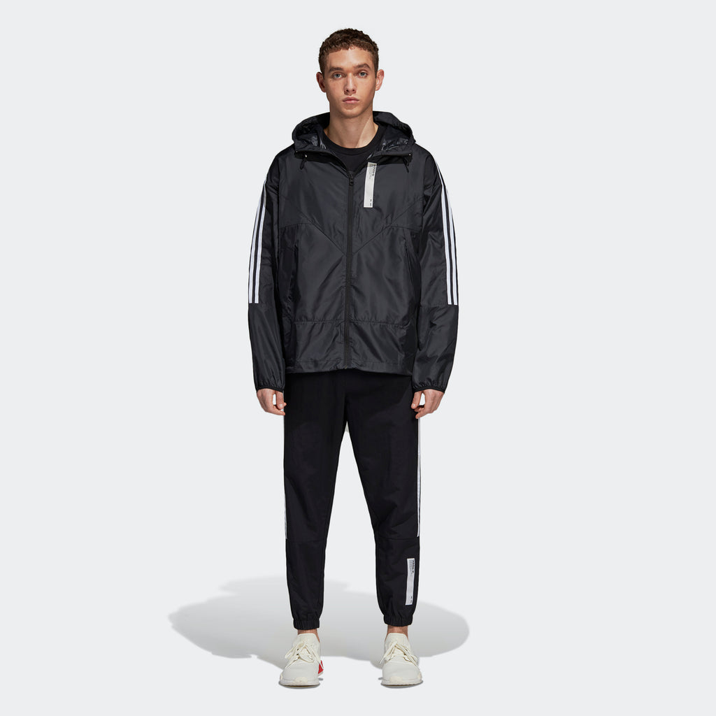 Men's adidas Originals NMD Karkaj Windbreaker Black