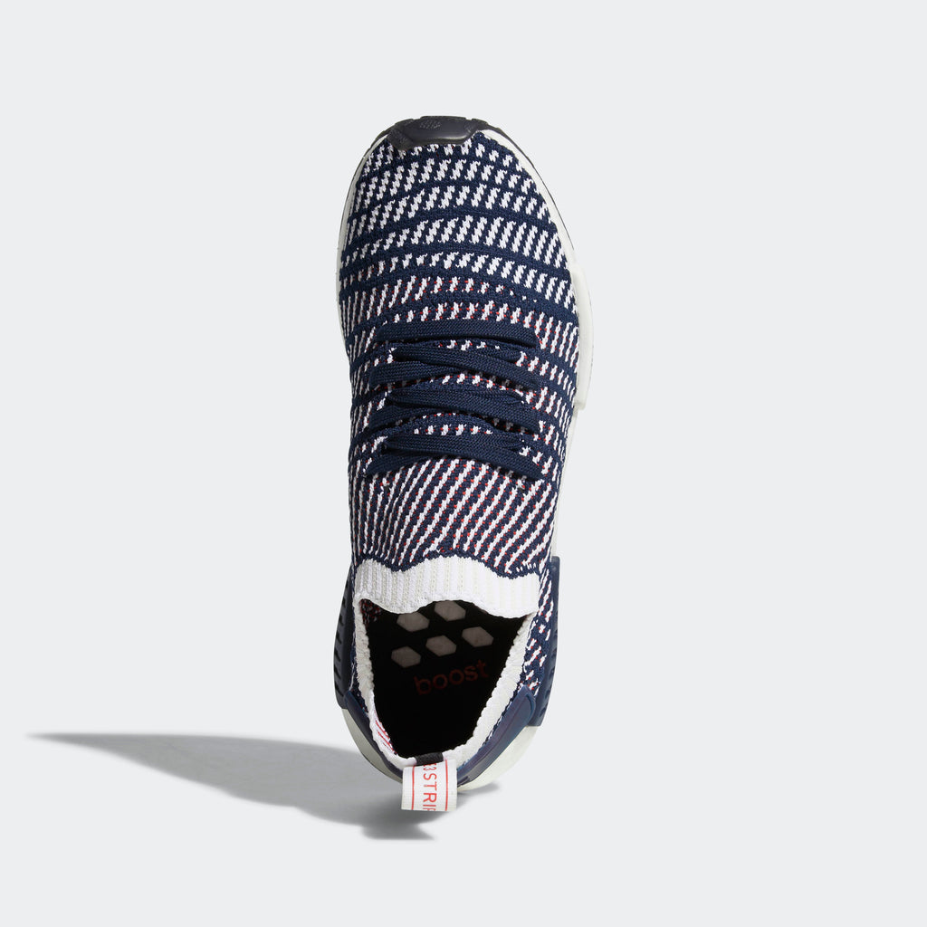 Men's adidas Originals NMD_R1 STLT Primeknit Shoes Collegiate Navy