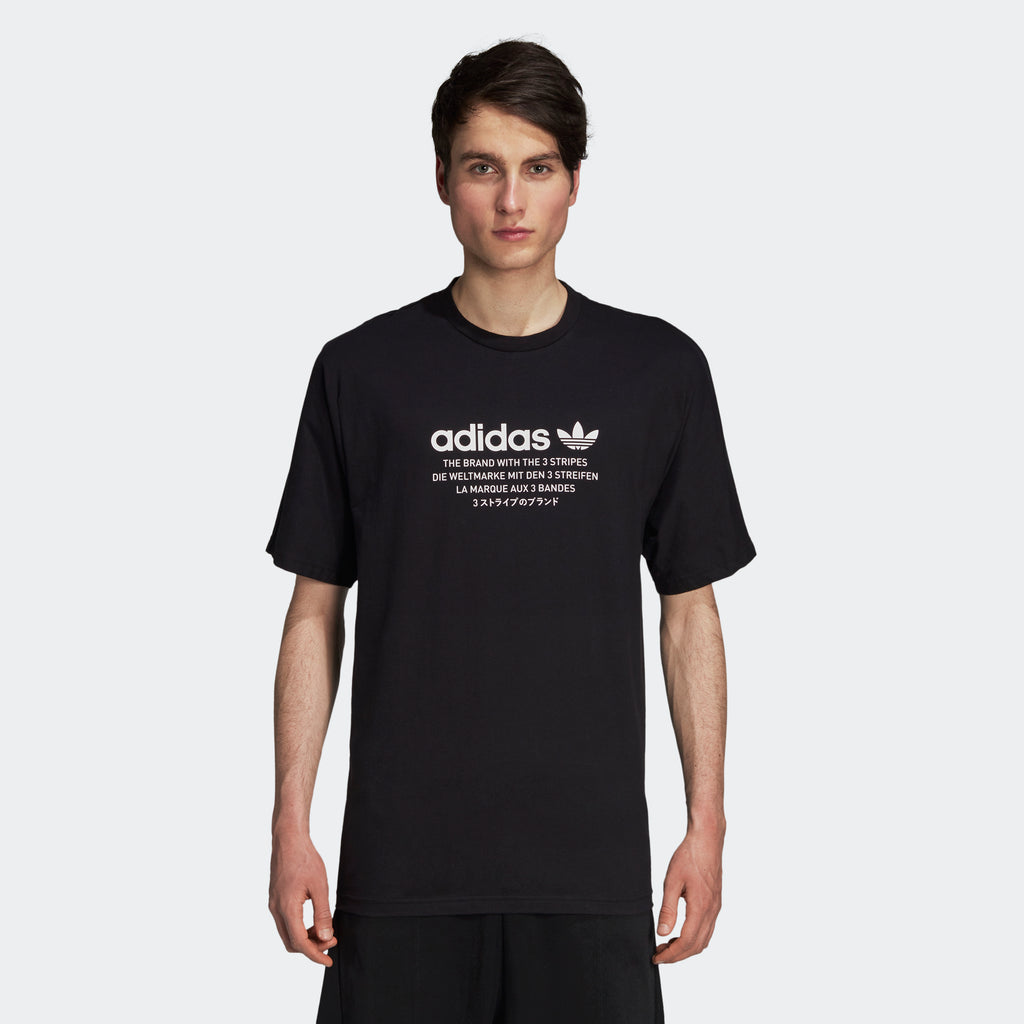 Men's adidas Originals NMD T-Shirt Black