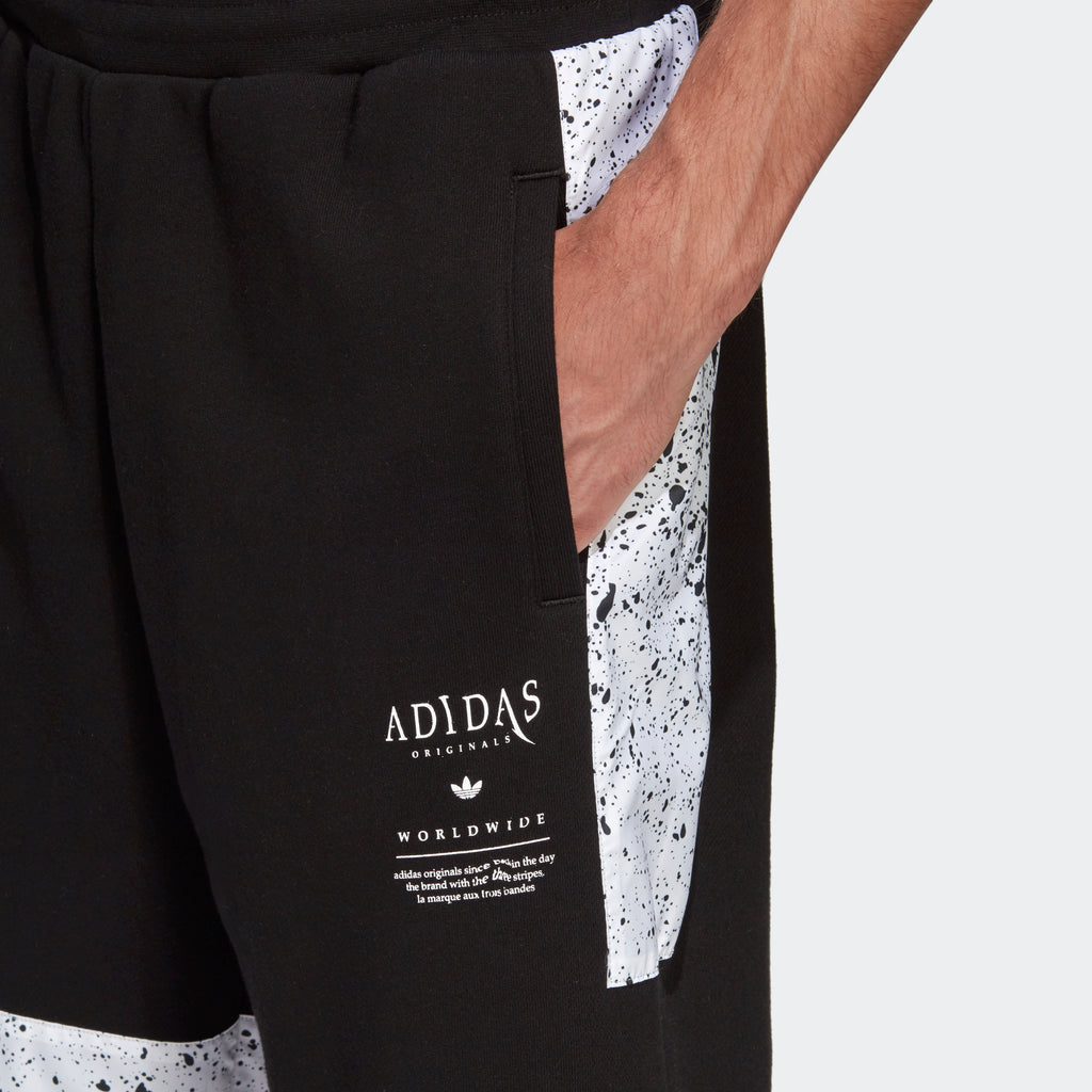 Men's adidas Originals Planetoid Shorts Black