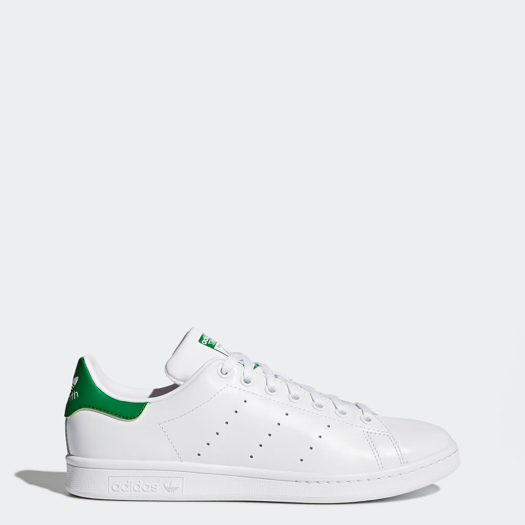 Men's adidas Originals Stan Smith Shoes White Green