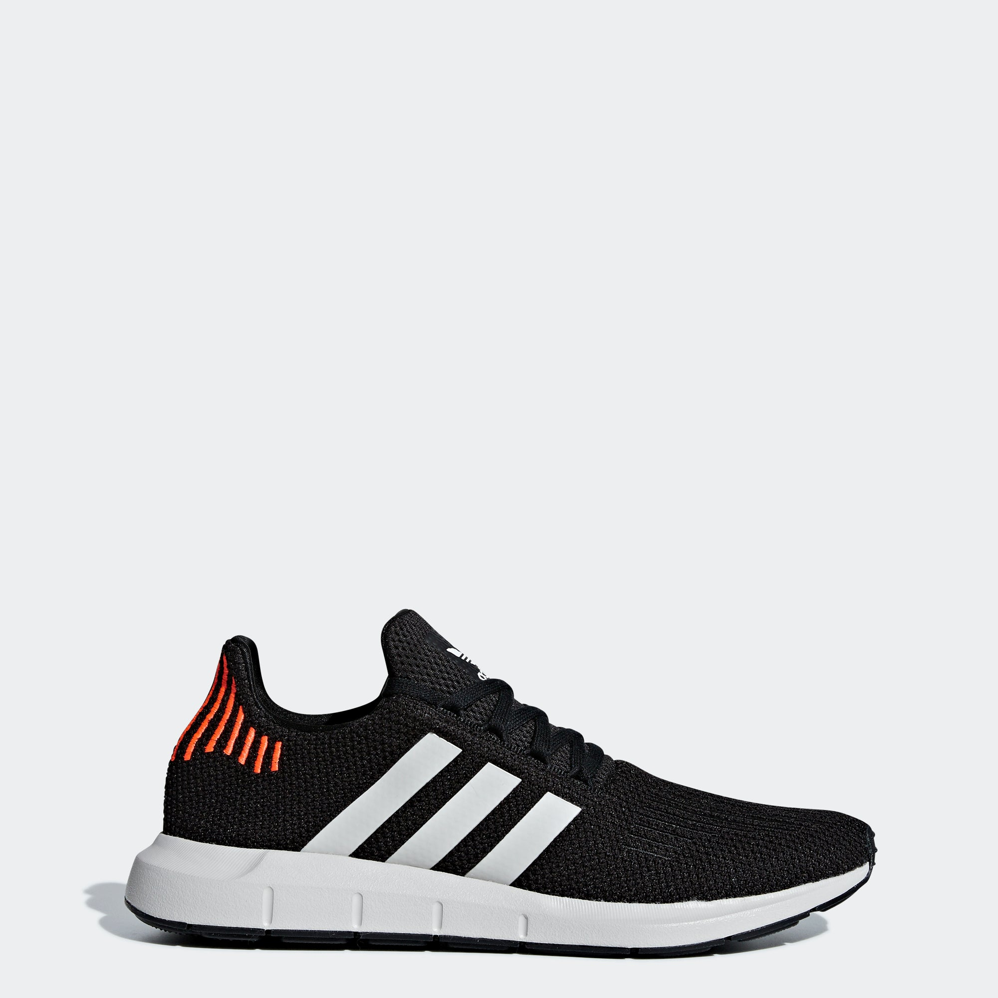 f12c50abf78ab Men s adidas Originals Swift Run Shoes Black Orange