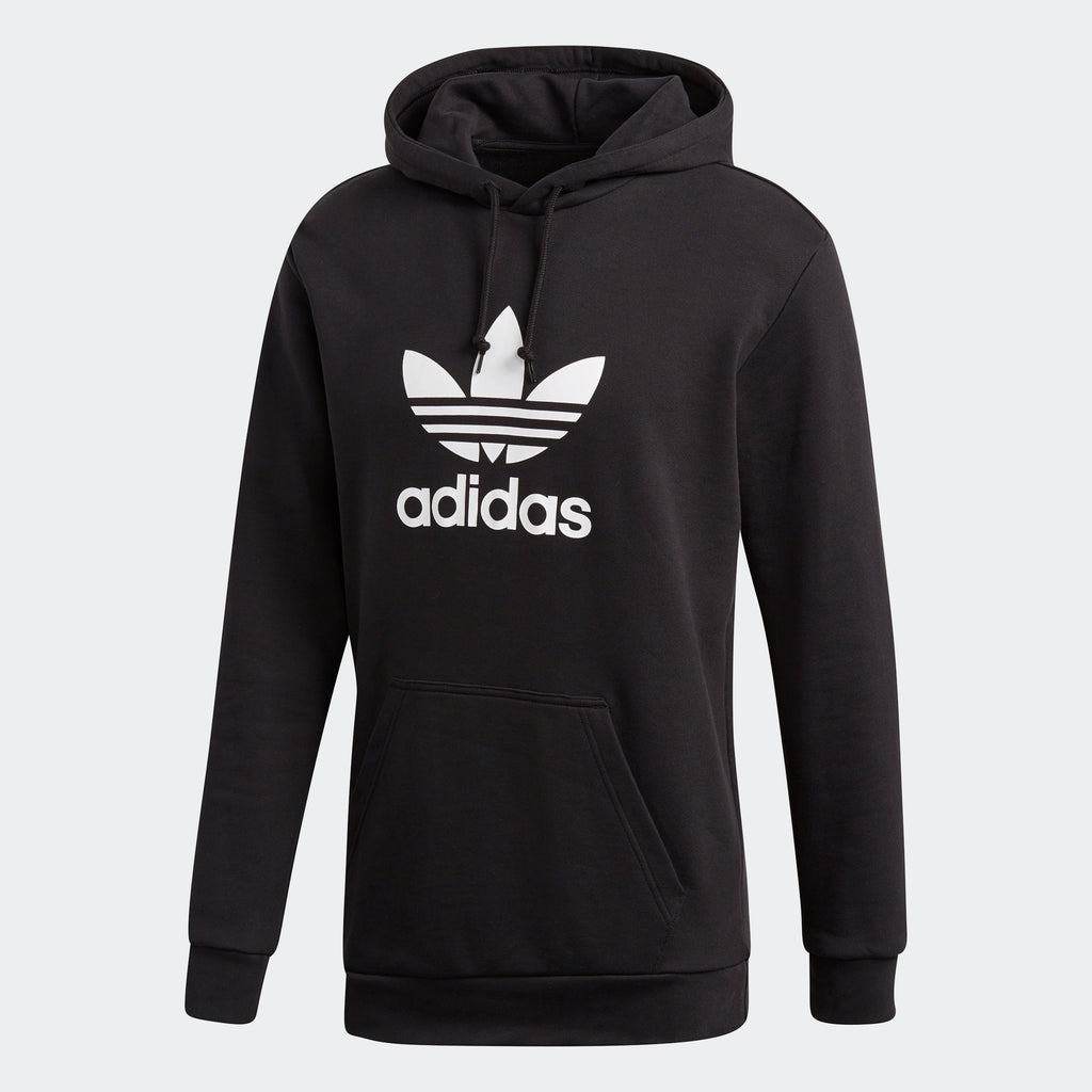 Men's adidas Originals Trefoil Warm-Up Hoodie Black