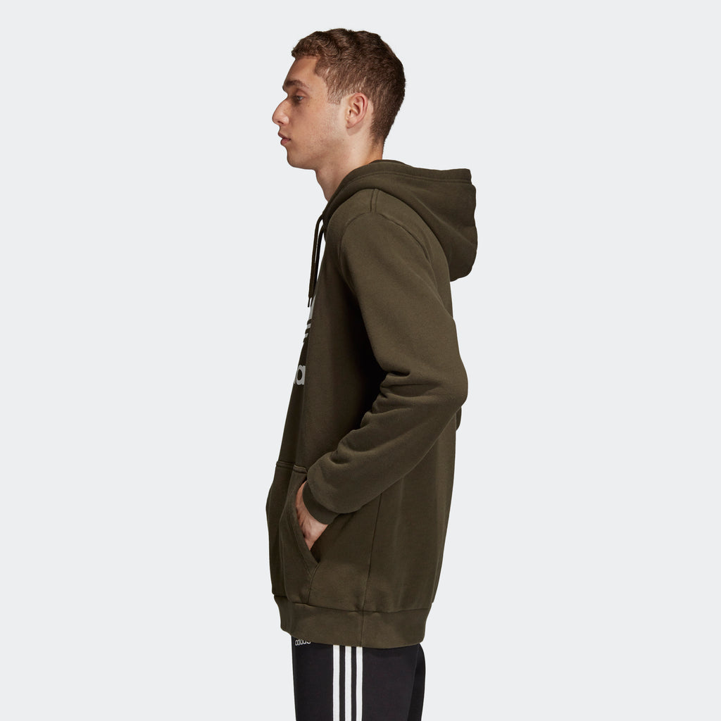 Men's adidas Originals Trefoil Warm-Up Hoodie Night Cargo