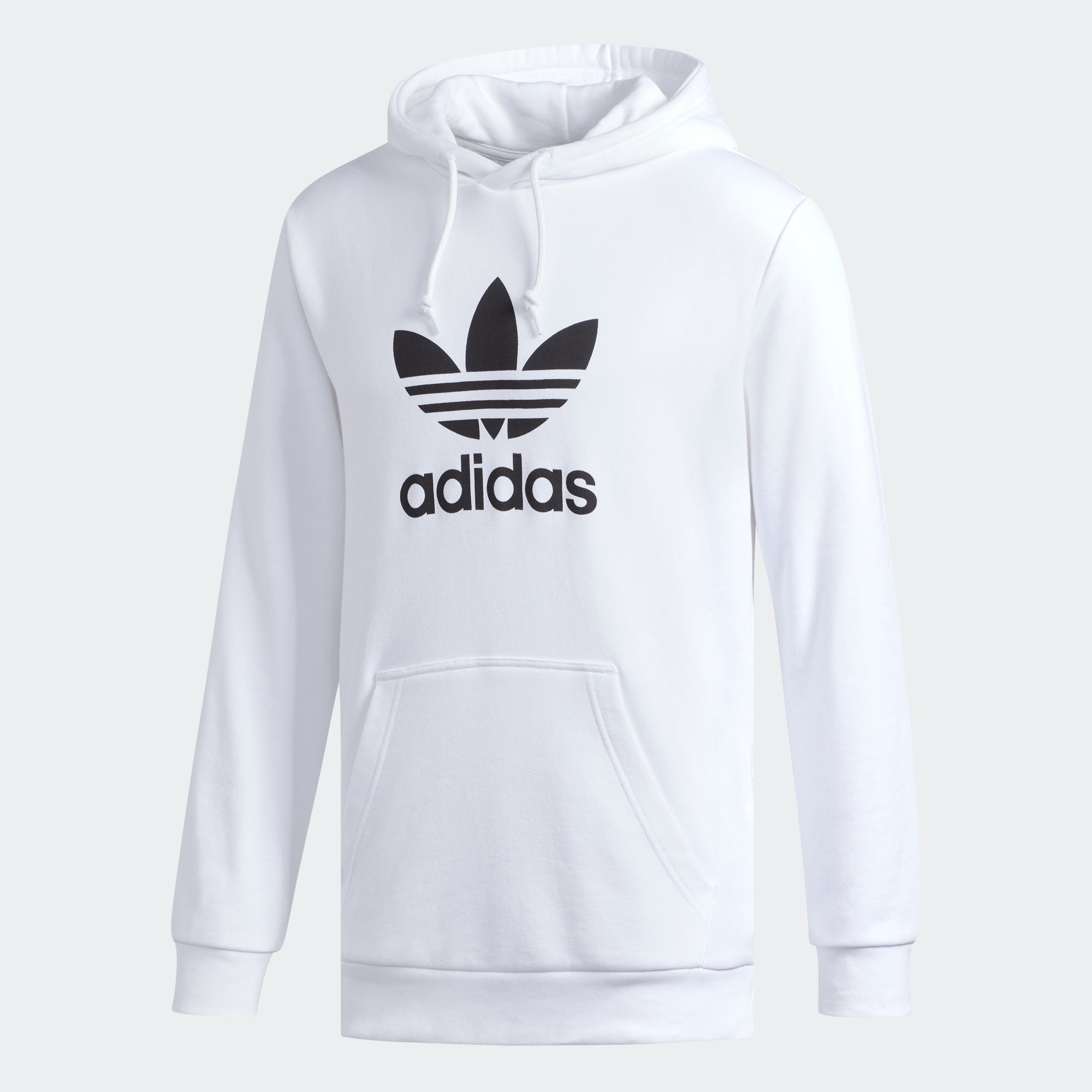 b144f264e564 Men s adidas Originals Trefoil Warm-Up Hoodie White