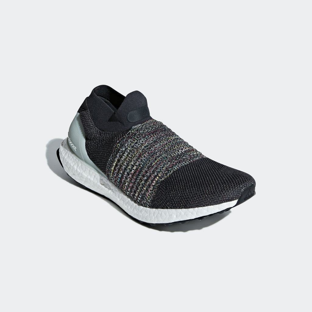 Men's adidas Running Ultraboost Laceless Shoes Carbon Gray