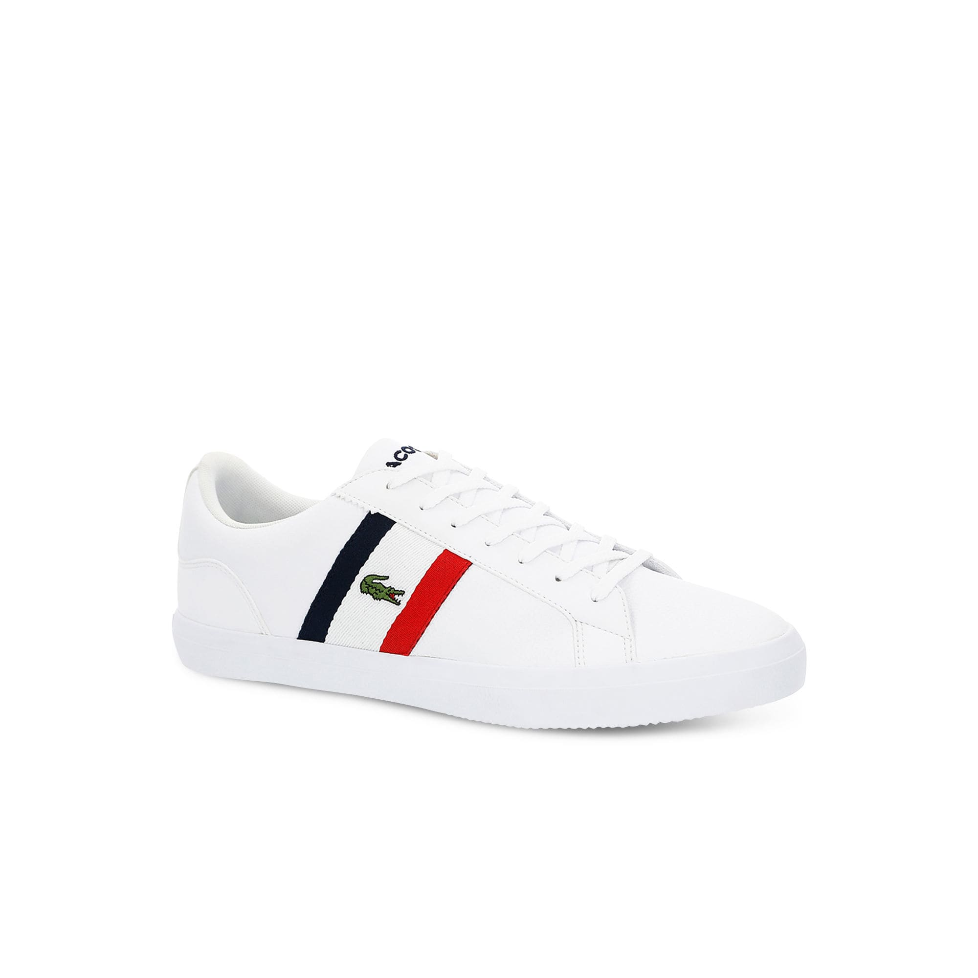 a6250e627aef Men s Lacoste Lerond Tumbled Leather Trainers