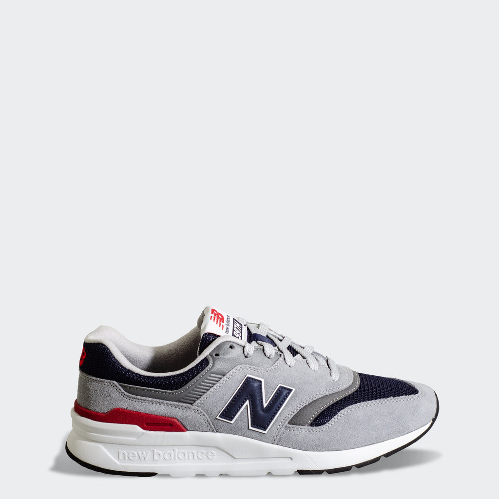 Men's New Balance 997H Shoes Grey CM997HCJ | Chicago City Sports | side view