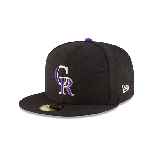 Men's New Era Colorado Rockies Authentic Collection 59FIFTY Fitted