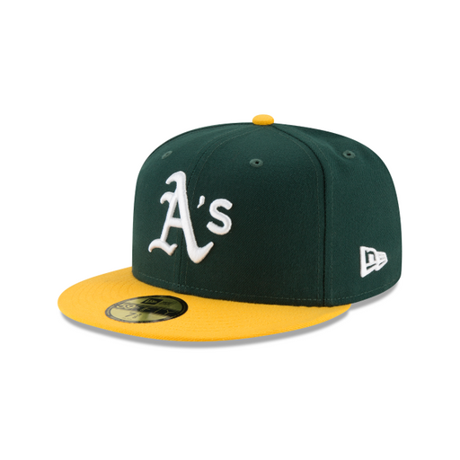 Men's New Era Oakland Athletics Authentic Collection 59FIFTY Fitted