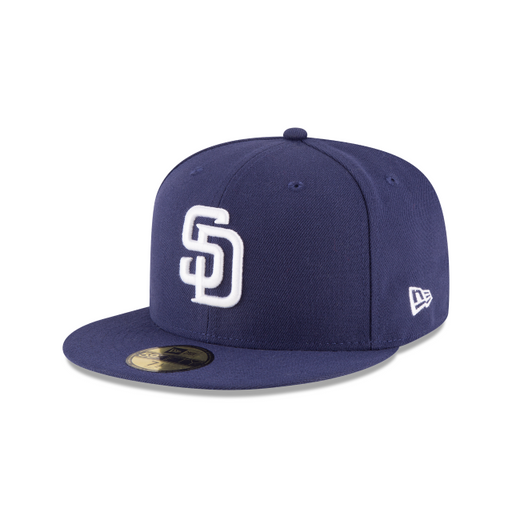 Men's New Era San Diego Padres Authentic Collection 59FIFTY Fitted