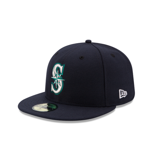 Men's New Era Seattle Mariners Authentic Collection 59FIFTY Fitted