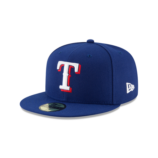 Men's New Era Texas Rangers Authentic Collection 59FIFTY Fitted