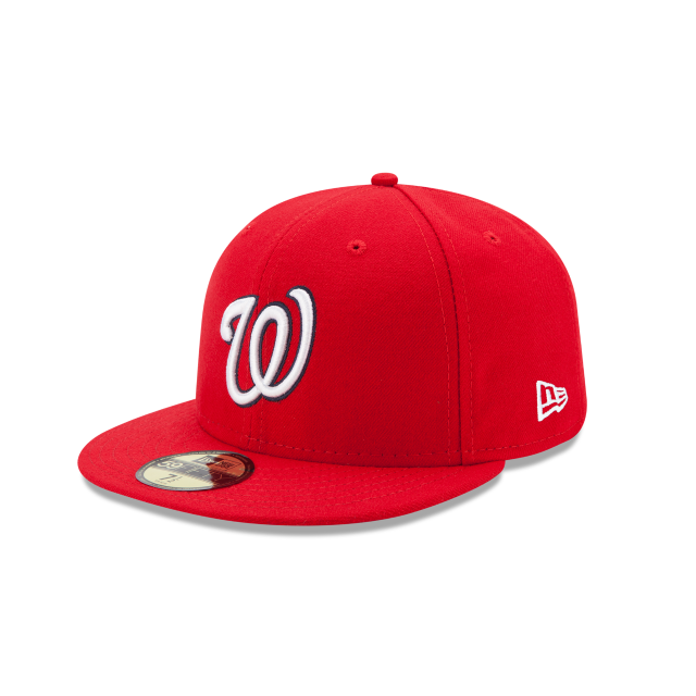 Men's New Era Washington Nationals Authentic Collection 59FIFTY Fitted