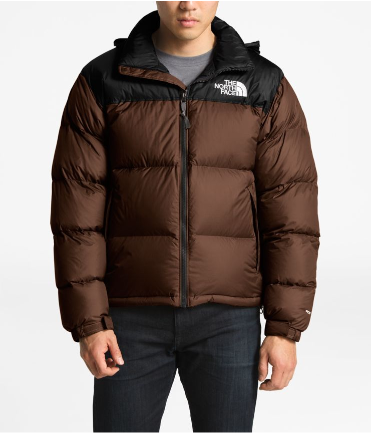 Men's The North Face 1996 Retro Nuptse Jacket Brownie Brown