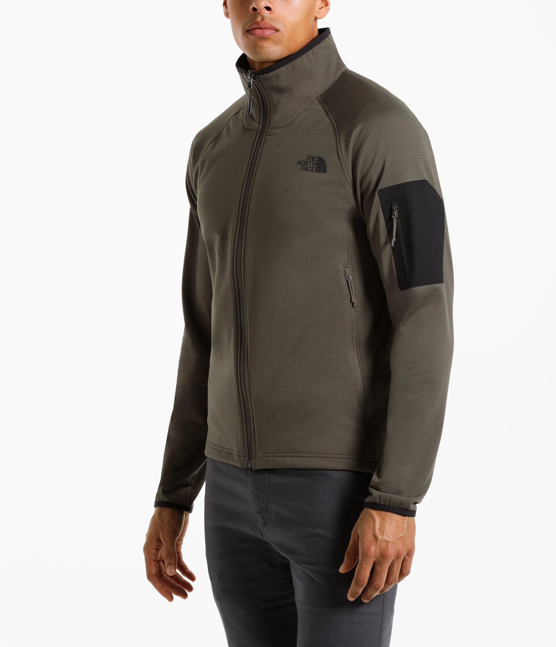 a02a86c00 The North Face Borod Full Zip Jacket New Taupe Green | Chicago City ...
