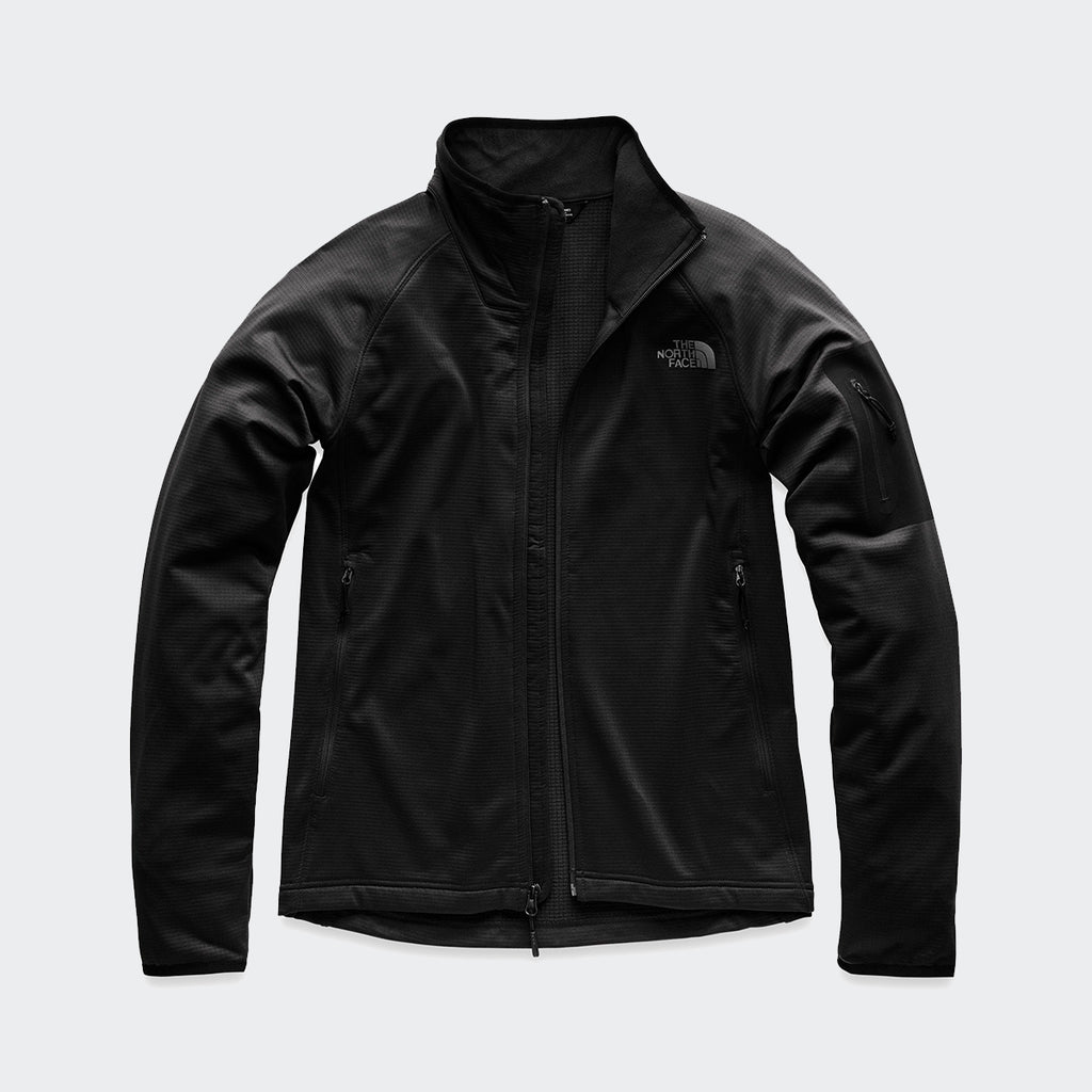 Men's The North Face Borod Full Zip Jacket Black