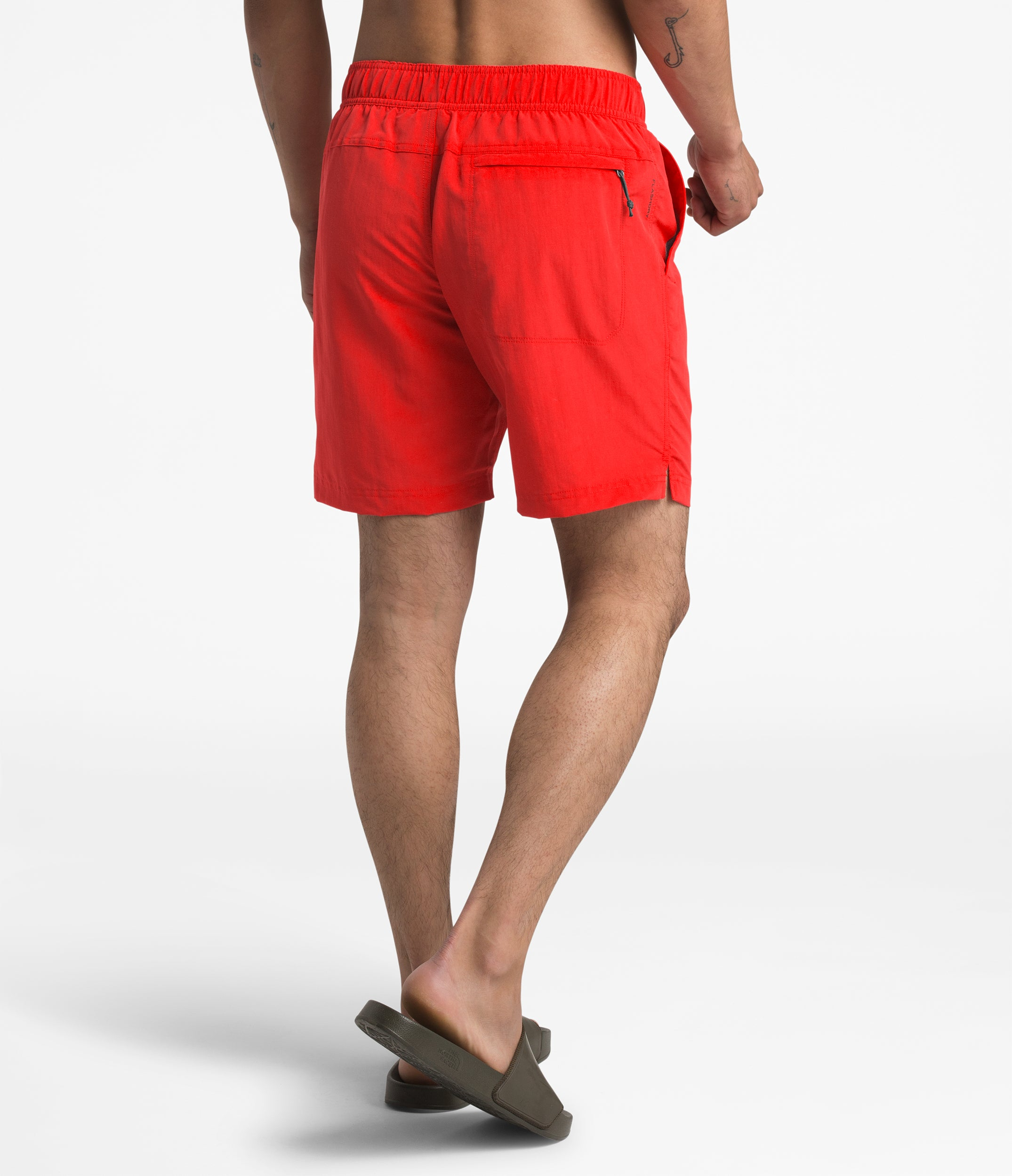 3356942a9 TNF Class V Pull-On Trunks Fiery Red | Chicago City Sports