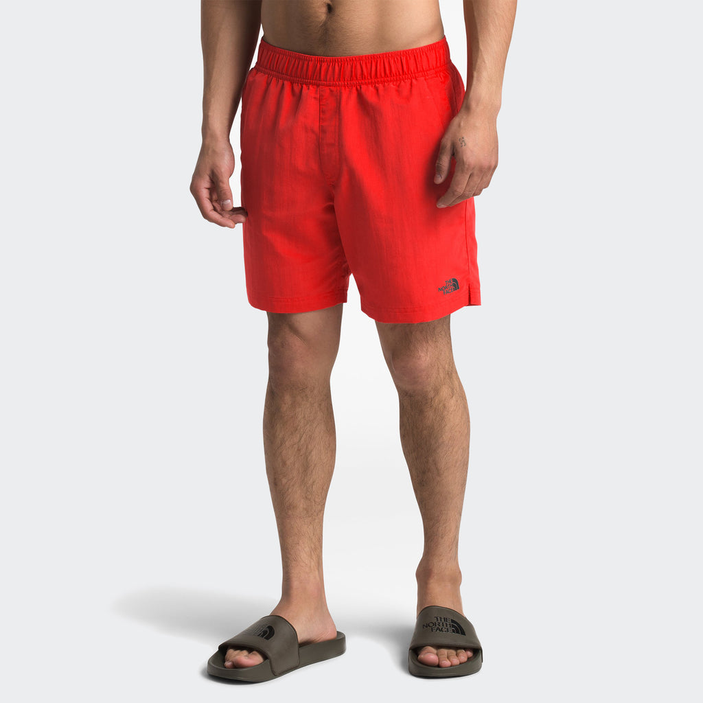 Men's The North Face Class V Pull-On Trunks Fiery Red