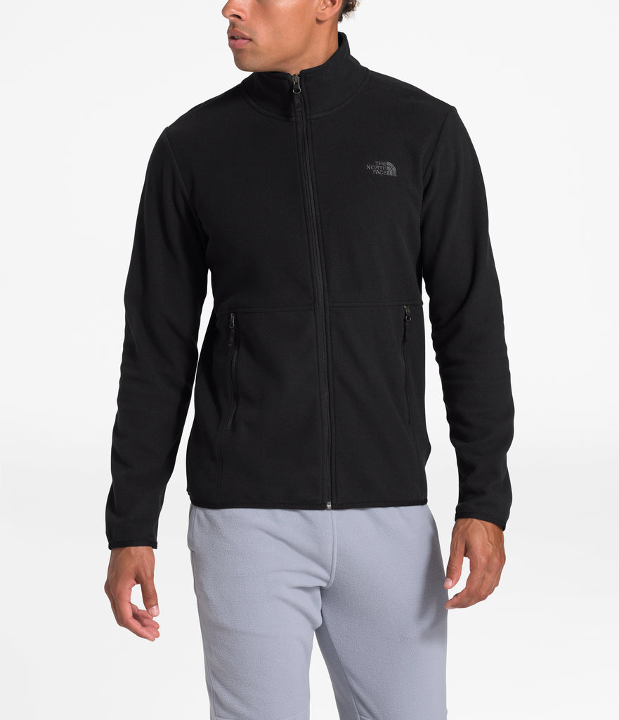 Men's The North Face TKA Glacier Full-Zip Jacket Black