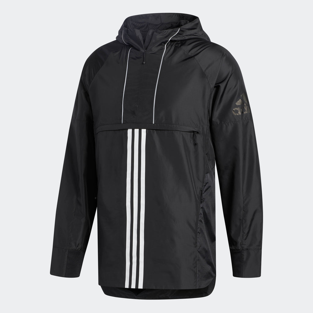 Men's adidas Athletics ID Woven Shell Jacket Black
