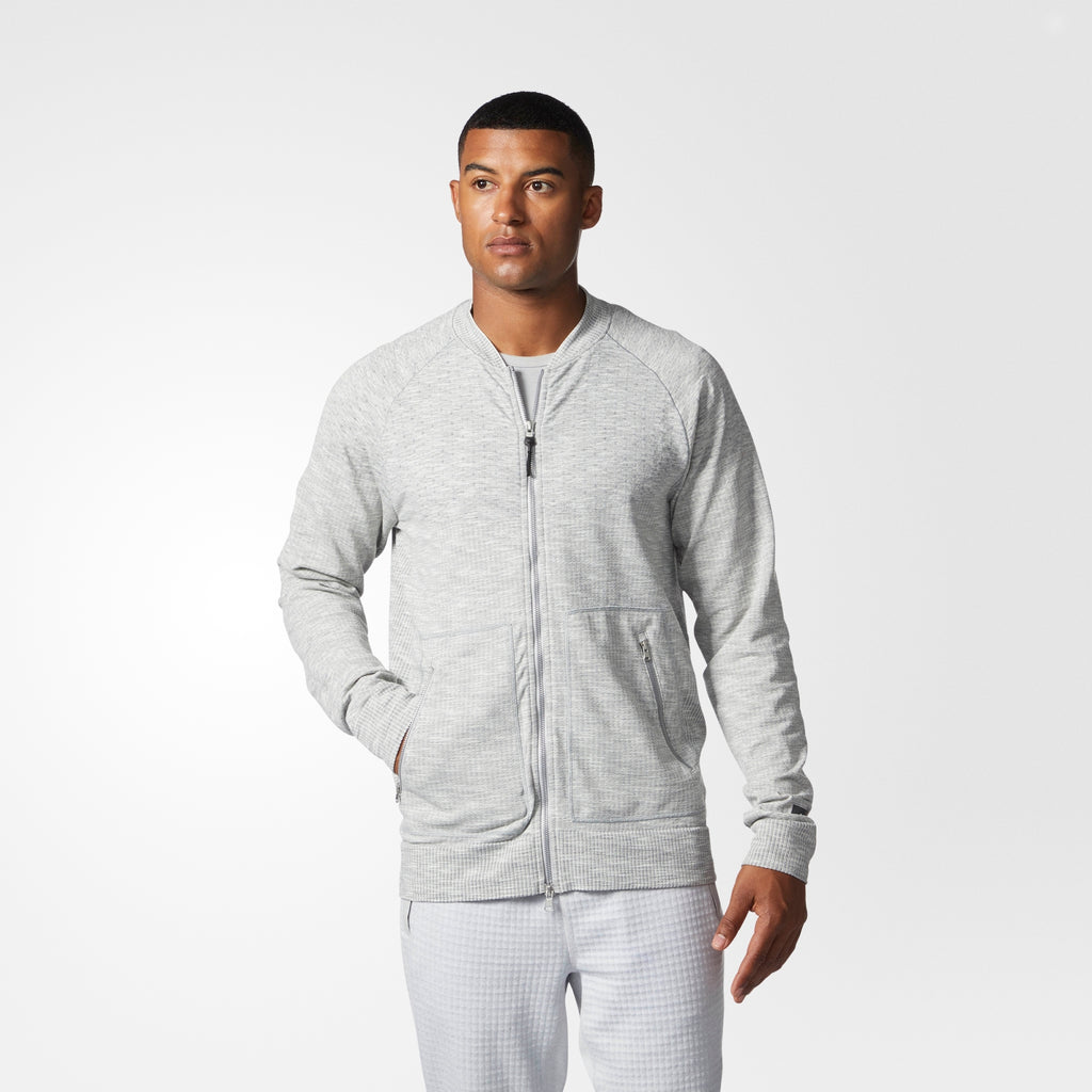 Men's adidas Athletics x Reigning Champ Primeknit Bomber Jacket