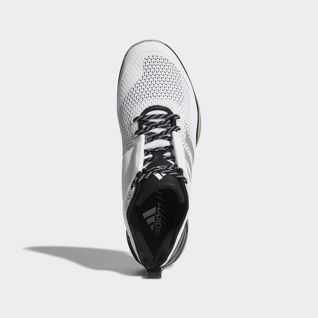 check out 116bb abccb Men s adidas Baseball Speed Trainer 3 Shoes White Silver Metallic