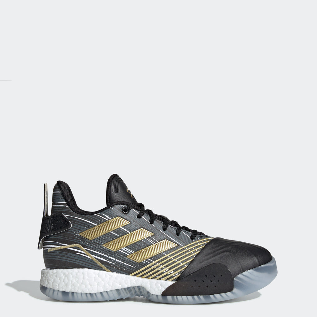 Men's adidas Basketball T-Mac Millennium Shoes Black Gold