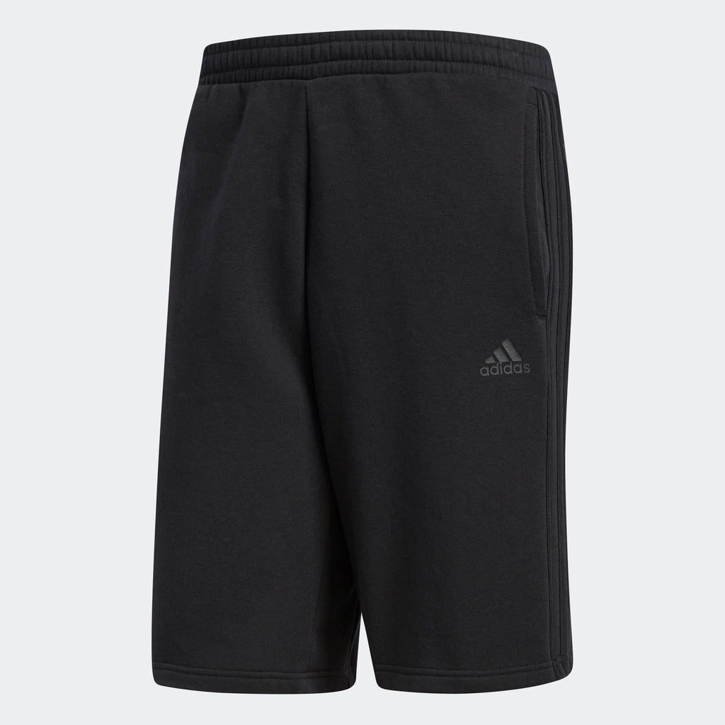 Men's adidas Essentials 3-Stripes Shorts All Black