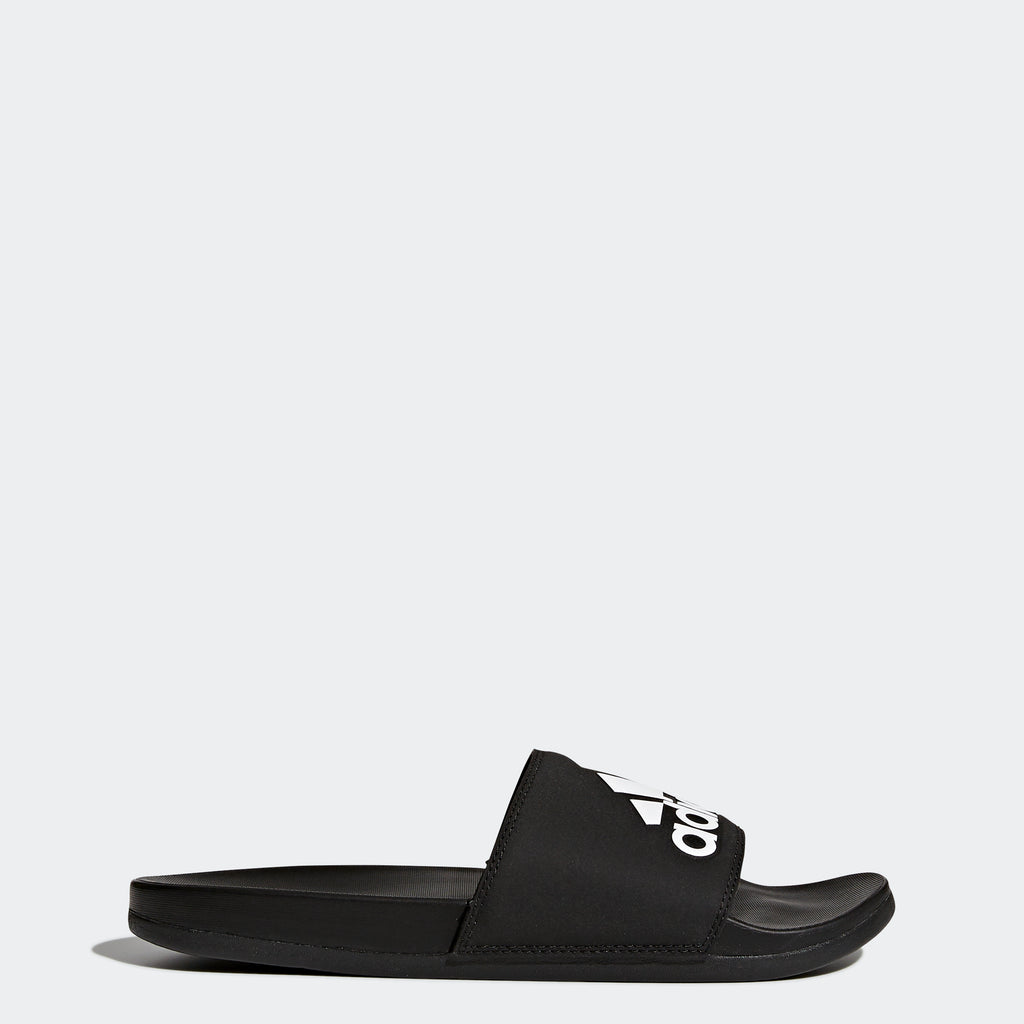 Men's adidas Essentials Adilette Cloudfoam Badge Slides
