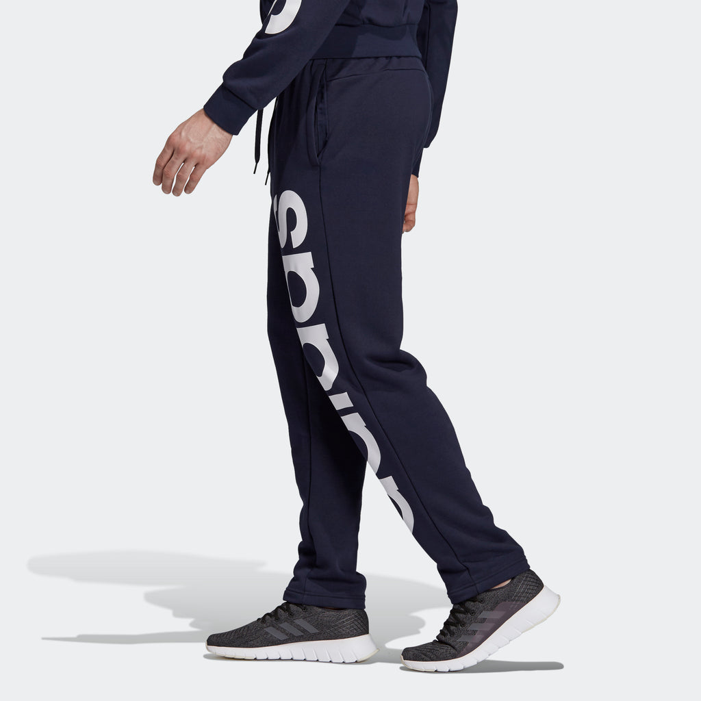 Men's adidas Essentials Logo Pants Legend Ink