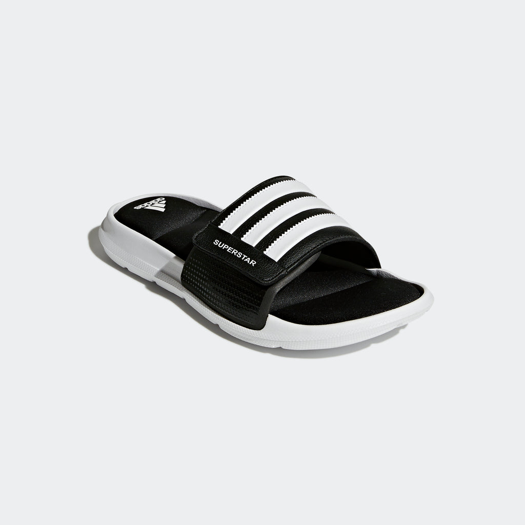 Men's adidas Essentials Superstar 5G Slides Black
