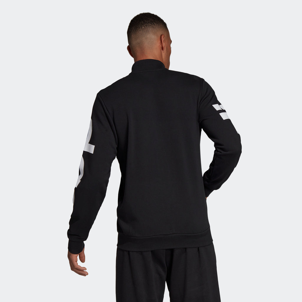Men's adidas Essentials Track Jacket Black