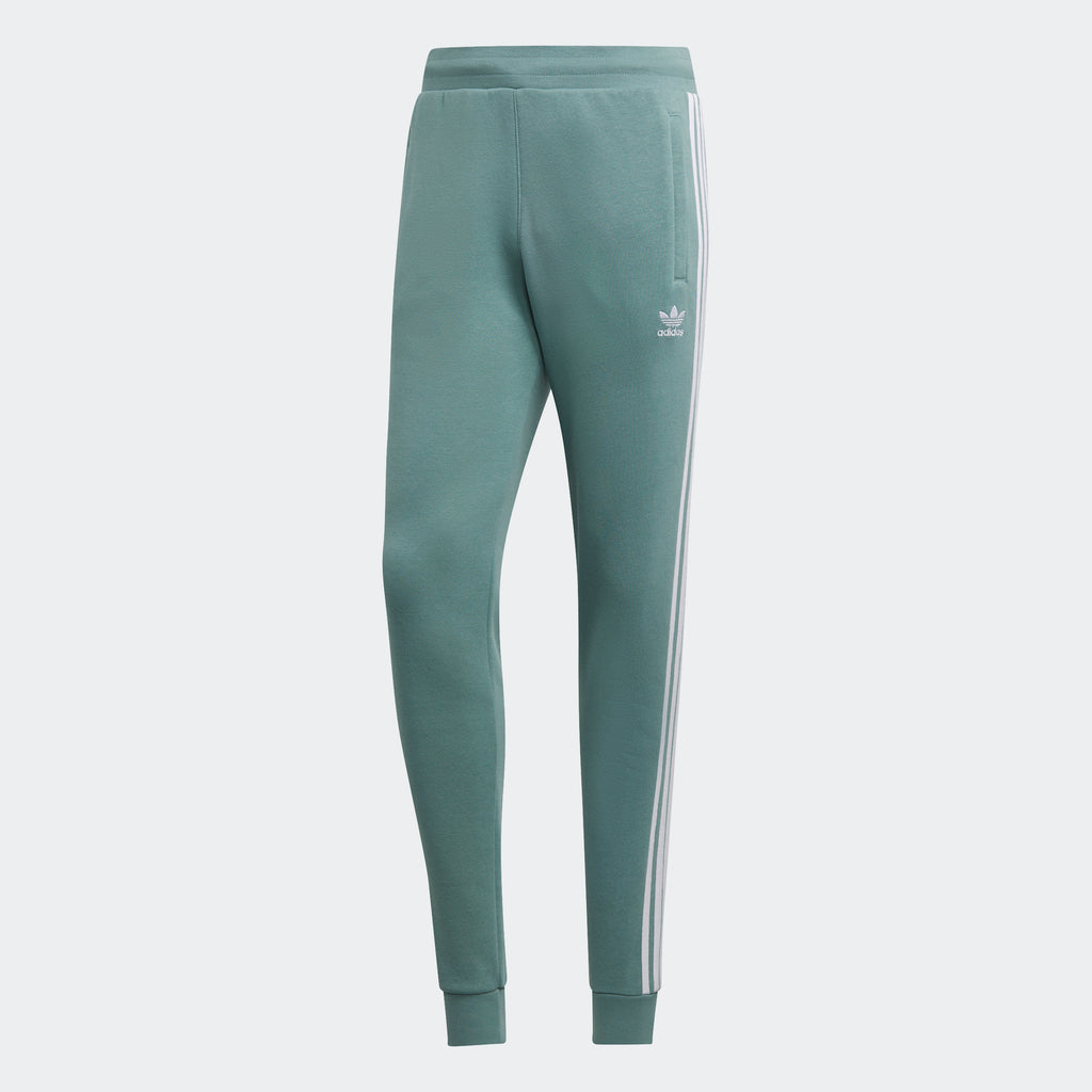 Men's adidas Originals 3-Stripes Pants Vapour Steel