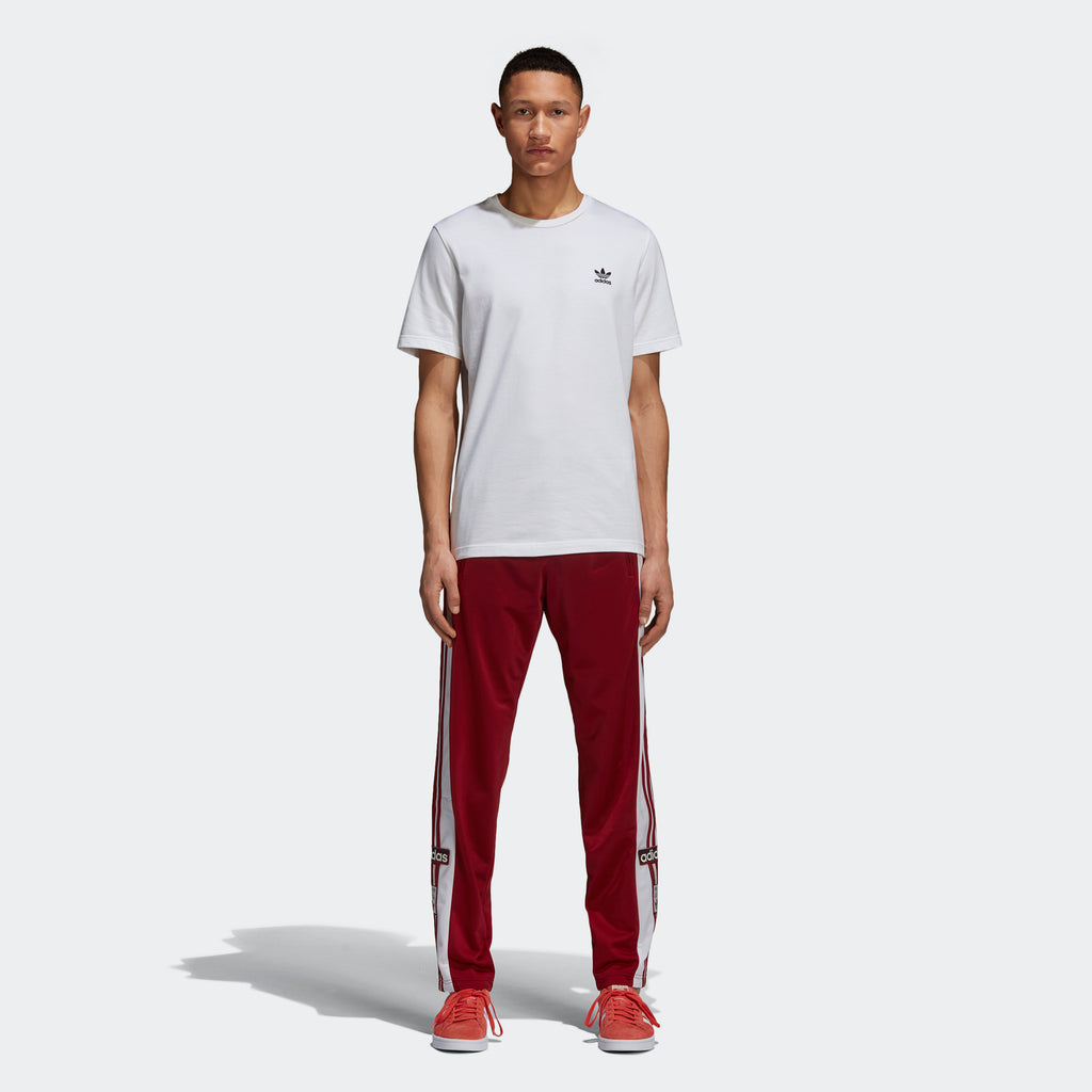 Men's adidas Originals Adibreak Track Pants Rust Red