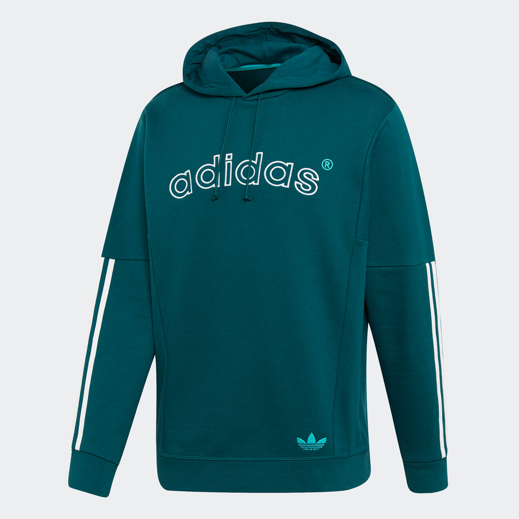 Men's adidas Originals Archive Sweat Hoodie Rich Green