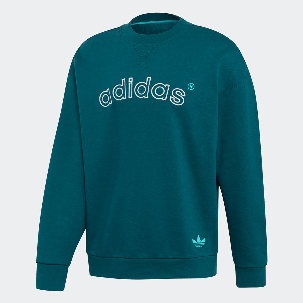 Men's adidas Originals Archive Sweatshirt Rich Green