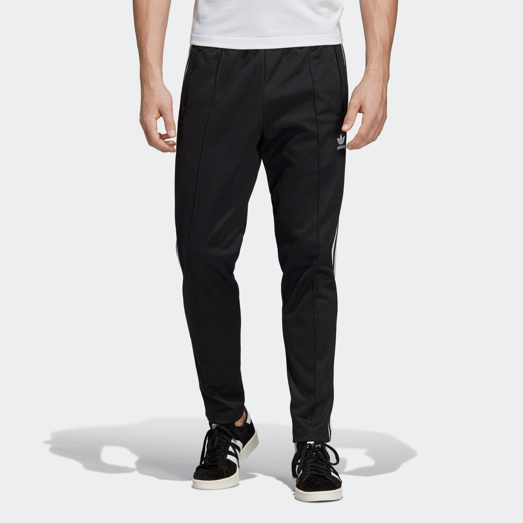Men's adidas Originals BB Track Pants Black White