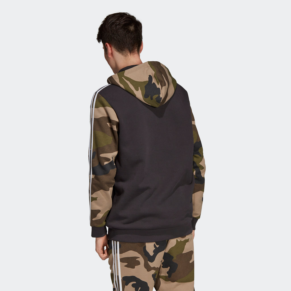 Men's adidas Originals Camouflage Hoodie Utility Black