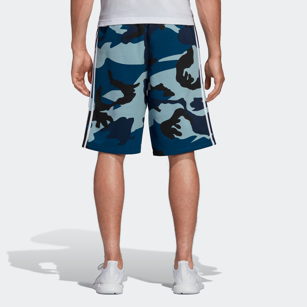 Men's adidas Originals Camouflage Shorts Collegiate Navy