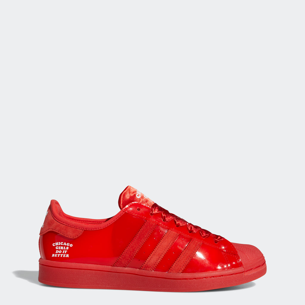 Men's adidas Originals Chicago Girls Superstar Shoes