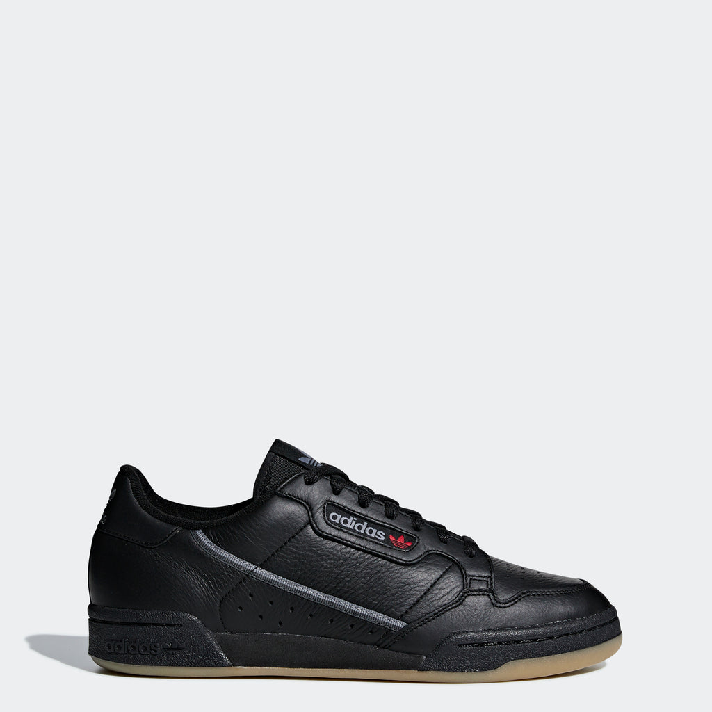 Men's adidas Originals Continental 80 Shoes Black Gum
