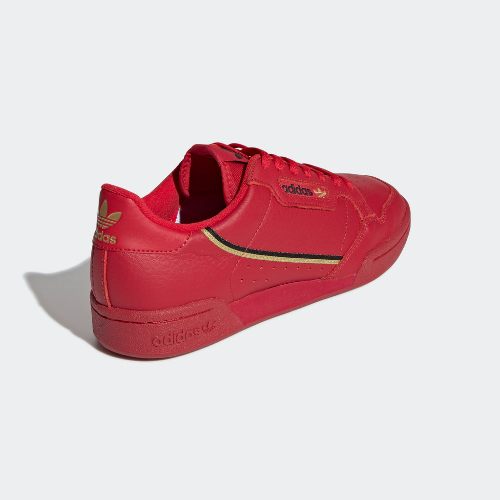 Men's adidas Originals Continental 80 Shoes Scarlet
