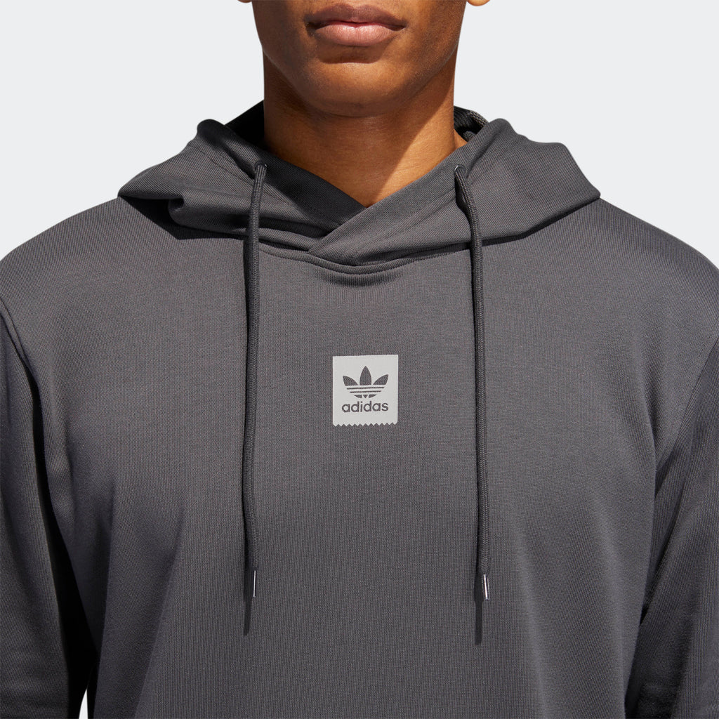 Men's adidas Originals Cornered Hoodie Grey